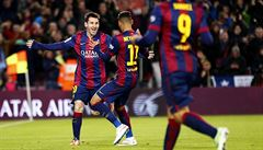 Messi, Messi a znovu Messi. Barcelonské derby se změnilo v kanonádu