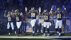 Nestřílejte! Hráči NFL vyjádřili solidaritu s protestujícími ve Fergusonu