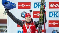 Biatlonová paráda: Moravec i Vítková obsadili ve sprintu druhé místo