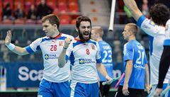 Florbalisté deklasovali na MS Estonsko 12:2 a vyhráli skupinu