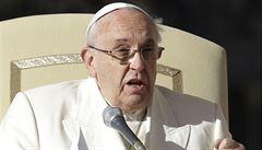 Papež František diagnostikoval patnáct chorob římské kurie