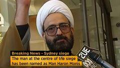 Únosce v Sydney chtěl hlavně upoutat pozornost, tvrdí experti