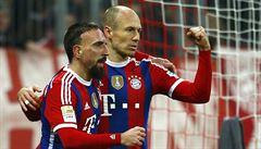 Bayern znovu vítězně, výhru nad Freiburgem vystříleli Robben a Müller
