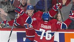 Sekáč dvěma góly pomohl k výhře Montrealu. Bodoval třetí zápas za sebou