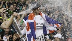 Šampion F1 je znovu nejvíc. Evropským sportovcem roku zvolili Hamiltona