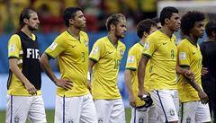 Omlouváme se brazilskému lidu, opakovali domácí fotbalisté