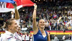 Češky vyhrály Fed Cup. Rozhodující bod proti Němkám vybojovala Kvitová