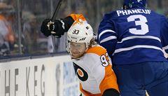 Voráček čtyřikrát asistoval a znovu vládne bodování NHL
