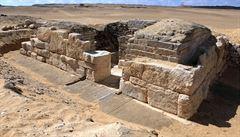 Čeští archeologové objevili v Egyptě hrobku dosud neznámé královny