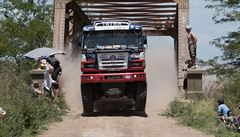 Kolomý s tatrou dojel ve druhé etapě Dakaru pátý, Loprais skončil sedmý
