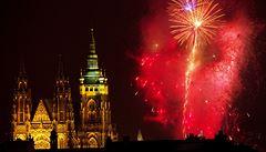 Pražský novoroční ohňostroj políbí Múzy. Tématem je inspirace