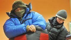 Rekord z Přerovska. Muž ve stostupňovém mrazu vydržel osm hodin