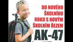 Reklama ukazující vraždu z IS porušuje kodex. A co školák s kalašnikovem?