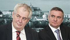 Prezident má fandy blízko. Přátelé Miloše Zemana sídlí nově na Hradčanech, nájem za ně dohodl Mynář