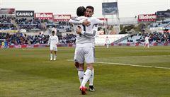 Bílý balet ovládl derby proti Getafe. Dvakrát se trefil Ronaldo