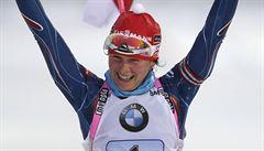 Znovu skvělá Vítková. V hromadném závodě v Ruhpoldingu byla třetí