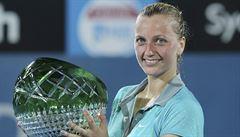 Kvitová zvládla tie-breaky a ve finále v Sydney udolala Plíškovou