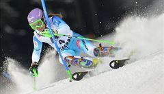 Strachová pokazila druhé kolo ve Flachau a spadla z pódia na deváté místo
