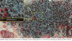 Obraz katastrofy. Satelitní snímky dokumentují běsnění sekty Boko Haram