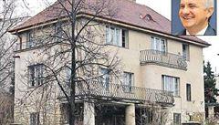 Mynářovu strašnickou vilu 'navštívili' zloději. Stavební firmě ukradli nářadí
