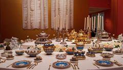 Amsterodamské muzeum vystavuje luxusní porcelán ruských carů i Stalina