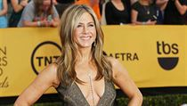 Herečka Jennifer Aniston (předávání cen Screen Actors Guild Awards v Los Angeles)