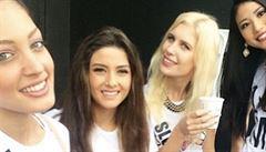 Miss Izrael a Libanon si udělaly selfie. Libanonci zuří
