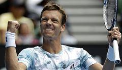 Jasná záležitost. Berdych zničil Nadala a je v semifinále Australian Open