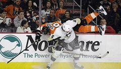 Voráček se v NHL pobil a pak si připsal asistenci u vítězné trefy