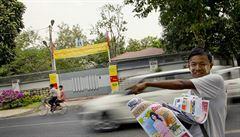 V Barmě budou dražit železnou bránu domu Su Ťij