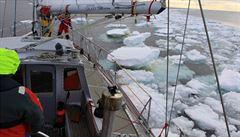 Expedice se vrátí z Antarktidy. Vědci nasbírali cenná data