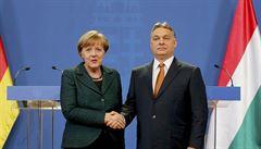 Orbán je ochoten jednat s Merkelovou o bilaterální azylové dohodě, nejdříve se však musí vyjasnit německý postoj