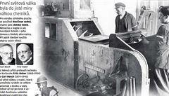 První světová válka chemiků. Před sto lety se válčilo i v laboratořích