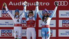 Je to jako sen, říká o čtvrté světové medaili slalomářka Strachová