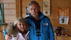 Bankův otec lituje mladé lyžaře a tvrdí: Sjezdům se teď všichni vyhnou