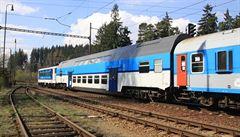 Služeb Českých drah v pololetí využilo o 2,5 procenta více cestujících