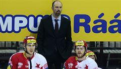 Hokejisté Slavie mají letos už čtvrtého trenéra. Beránkovi pomůže Srdínko