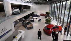Ve Zlíně je jako první v Evropě nový typ prodejny vozů Hyundai