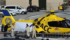Těžká havárie v F1. Alonso byl vrtulníkem transportovaný do nemocnice