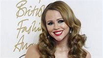 British Fashion Awards 2010: Zpěvačka Kimberley Walsh