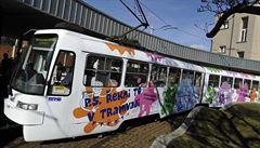 V Brně mohou lidé do tramvaje umístit vzkazy