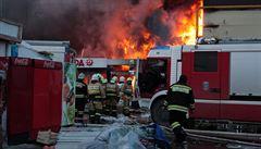 Požár nákupního centra v Kazani si vyžádal již patnáct obětí