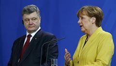 Merkelová: Pokud Rusko nedodrží dohody, uvalí EU další sankce
