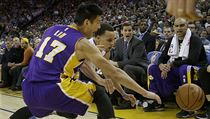 Jeremy Lin z Los Angeles Lakers.