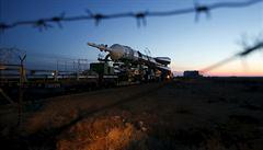 Na ruském kosmodromu se zřítila nově vyvíjená raketa