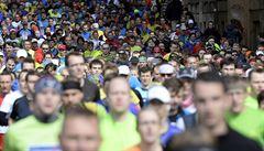 Rekord odvál Pražskému půlmaratonu vítr, Češkám vládla chodkyně Drahotová