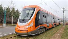 V Číně vyjela nová moderní tramvaj. Díky spolupráci se škodovkou