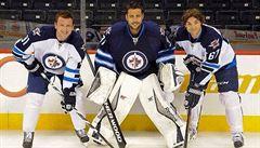 Ze základky až do NHL. Trio českých válečníků dobývá Winnipeg