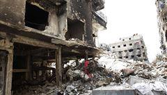 Peklo syrského Jarmúku: tábor smrti, kde se lidé mění na živé štíty
