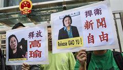 'Vyzradila státní tajemství.' Čínský režim udeřil na známou novinářku